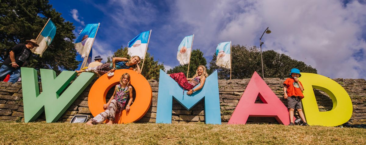 WOMAD really is a family friendly event, awesome!